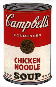 Soup Can, Andy Warhol, 1962