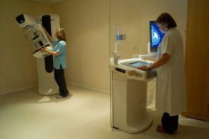 The new mammogram machine at Rabin Medical Center.