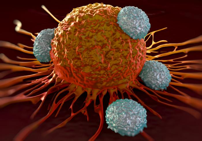 t-cells-attack-cancer-cell